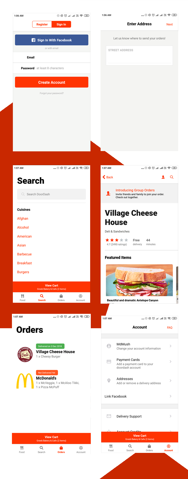 FoodApp React Native Theme - 6